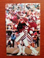 CFB 1988 MISSISSIPPI STATE UNIVERSITY MSU Football Schedule College FB