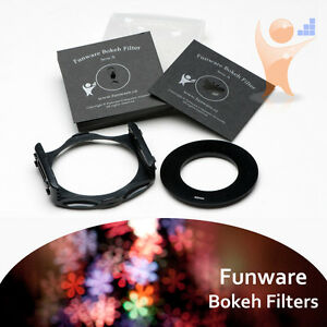 Funware Bokeh Filters - FUN002A - Series A (for large aparture lens f1.4, f1.8)