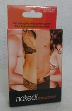 Naked! Strip Poker Card Game Deck Guys Great Gift Your Favorite Hot Sexy Player