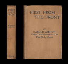 WWI 1914 Ashton FIRST FROM THE FRONT Paris BRITISH EXPEDITIONARY FORCE North Sea