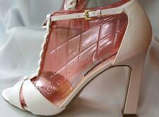 NINA heels white Size 8.5 Formal Z2