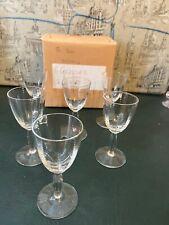X 6 Vintage small  liquor glasses