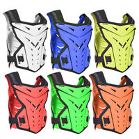 Motorcycle Vest Motorbike Armor Chest Back Guards Protectors MTB Protective Gear