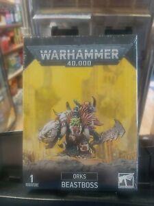 Orks Beastboss - Warhammer 40k - Games Workshop -  New