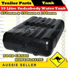 Superior 59l Underbody Water Tank - HDPE - Caravan Camper Trailer Boat 4wd
