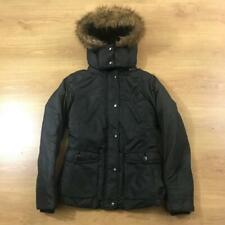 Levis Small Parka Fur Lined Hood Coat Jacket BNWT Slim Fit Puffer Ladies
