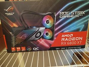 ASUS ROG STRIX Radeon RX 6800 XT Ultimate ROG-STRIX-LC-RX6800XT-O16G-GAMING 16GB