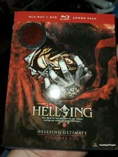 Hellsing Ultimate: Volumes 1-4 [New Blu-ray] With DVD, Boxed Set