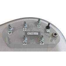 Bartolini HR-5.4AP/918 3 Band EQ, 5 Pots, 1 Toggle