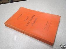 TRAITE D ASTROLOGIE MODERNE LEON LASSON 1954 *