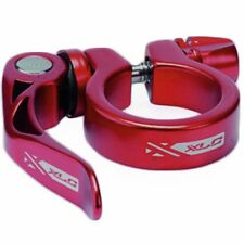 XLC QR Quick Release Seat Post Clamp Seatclamp Mountain Bike MTB 31.8mm Red