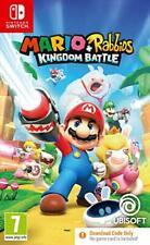 Mario + Rabbids Reino batalla (código en caja) (Nintendo Switch)