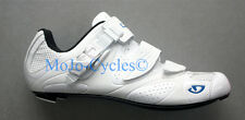 Women's Giro Espada Carbon Road bike shoes  White Blue EC70 Sole New