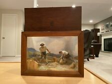 Wpa Museum Extension Project Diorama Shadow Box Farming 1930's