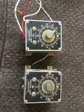 Lot Of 2 INDUSTRIAL TIMER CO SF-1M