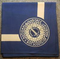 1937 National Scout Jamboree Neckerchief - Full Square Blue - Boy Scout/BSA