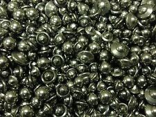 Stainless Steel Burnishing Mix: Balls and Ball-Cones Tumbling Media 3 lbs.