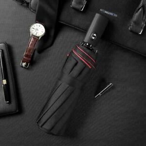 Automatic Double Wind-Resistant Umbrella Folding Ten Bone Large Luxury Umbrella