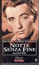 Notte senza fine (1947)  VHS RCS Cinema Americano Robert Mitchum Raoul Walsh