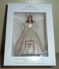 2011 Hallmark Ornament Nib ~ Fashion Model Barbie ~ Lady of the Manor