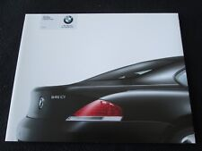 2004 BMW 645Ci Coupe Catalog 645i 1st year Intro Sales Brochure 6 Series E64