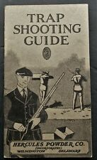 Hercules Powder Co 1928 Trap Shooting Guide Booklet