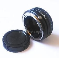 Tilt Nikon F Lens To Micro 4/3 M4/3 Adapter GH1 G5 EP3 GF1 GF2 EPL3 EP2 G3 G2 G1