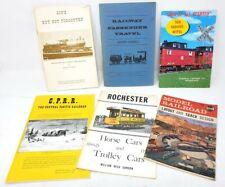 Model Trains & Railroading - Books, Flyers, Catalogs, & Ephemera Lot (44 Items)