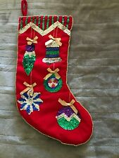 1992 Enesco Christmas Stocking