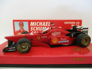 """FERRARI F310/2 , #1, Michael Schumacher, 1996 """"High Nose""""!!!"""