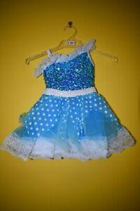 Childs Blue Novelty Dress