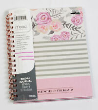 Mead Little Notes for the Big Day Wedding Bridal Journal Checklist & Event Info