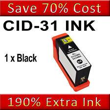 1 Black Ink Cartridge For Dell 31 V525W V725W