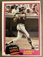 1981 Topps Jack Clark Baseball Card #648 Giants High-Grade?