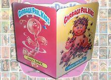 1986 GARBAGE PAIL KIDS School Folder #2 Dizzy Dave/ Itchy Richie MINT Topps