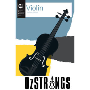 AMEB Violin Technical Work Book 2011 Current Edition