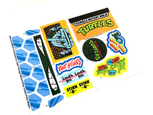TMNT Party Wagon Van 1980's Teenage Mutant Ninja Turtles - REPLACEMENT STICKERS