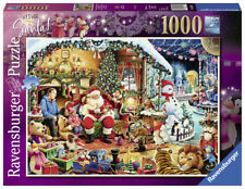 RAVENSBURGER PUZZLE*1000 TEILE*LET'S VISIT SANTA*CHRISTMAS*WEIHNACHTEN*OVP