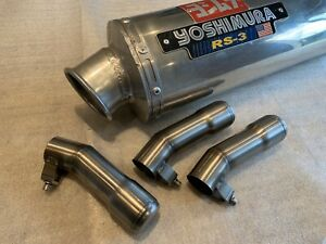 chicane db killer amovible adaptable pour pot yoshimura RS-3 sortie ovale