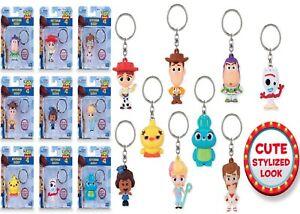 Toy Story 4 Keychain Buddies Cute Style Woody Buzz Lightyear Forky Jessie Doll