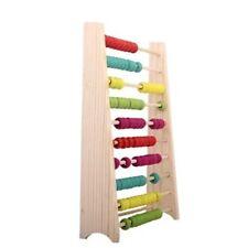 En Bois Abacus 10-Row coloré perles éducatif Préscolaire Jouet Pour Enfants Cadeau