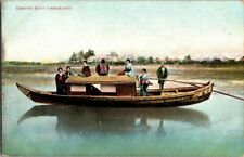 EARLY 1900'S. COVERED BOAT. YANEBUNE. JAPAN. POSTCARD TM7
