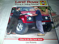 Land Rover Buying & Selling Manual by Haynes How to do the best deals