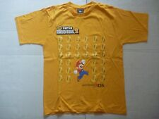 3DS Nintendo NEW SUPER MARIO BROS 2 promotional game T-SHIRT official
