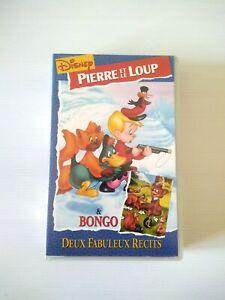PIERRE ET LE LOUP VHS ottime condizioni DISNEY 1996 edizione FRA
