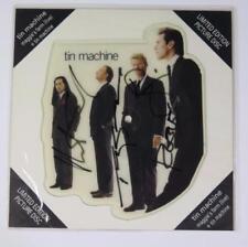 """David Bowie TIN MACHINE Signed Autograph """"Maggie's Farm"""" Picture Disc Vinyl LP 4"""