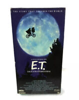 E.T. Movie VHS The Extra Terrestrial 1982 Rare Green & Black Collector Ed.