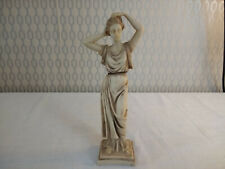 Greek Lady Small Sculpture Figurine