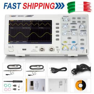 Owon SDS1022 Oscilloscopio Oscillometer Memoria Digitale 2CH 20MHz LCD Schermo