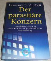 Der parapsitäre Konzern - Lawrence E Mitchell | Buch | gebraucht